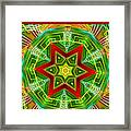 Abstract Glories Framed Print