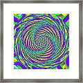 Abstract Hypnotic Framed Print by Kenny Francis