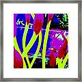 Abstract Lavender  Framed Print