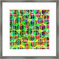 Abstract Lines 16 Framed Print