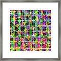 Abstract Lines 17 Framed Print