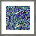Abstract Lines Framed Print by John Edwards