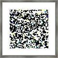 Abstract Mat Framed Print