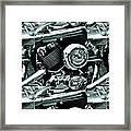 Abstract Motor Bike - Doc Braham - All Rights Reserved Framed Print