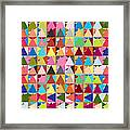 Abstract Of Colors  Framed Print