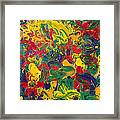 Abstract Painting - Color Explosion Framed Print