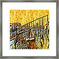 Abstract Roller Coaster Framed Print