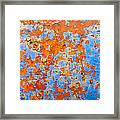Abstract - Rust And Metal Series Framed Print