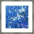Abstract Splashing Water Framed Print