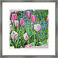 Abstract Spring Floral Fine Art Prints Framed Print
