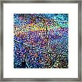 Abstract Stone Framed Print