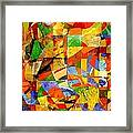 Abstraction 0368 Marucii Framed Print