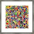 Abstraction 0449 Marucii Framed Print