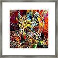 Abstraction 0526 Marucii Framed Print