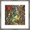 Abstraction 0557 Marucii Framed Print