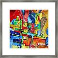 Abstraction 599-14 - Marucii Framed Print