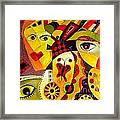 Abstraction 673 - Marucii Framed Print