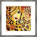 Abstraction 676 - Marucii Framed Print