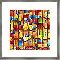 Abstraction 747 - Marucii Framed Print