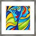 Abstraction 757 - Marucii Framed Print