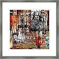 Abstraction 758 - Marucii Framed Print