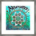 Abundance Money Magnet - Healing Art Framed Print
