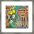 Accessories To Shrimp Catching Framed Print