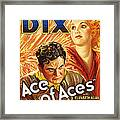 Ace Of Aces, Us Poster Art, From Left Framed Print