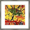 Action Abstraction No. 1 Framed Print