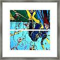 Action Abstraction No. 21 Framed Print