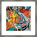 Action Abstraction No. 7 Framed Print