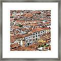 Aerial Of Venice Framed Print