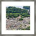 Aerial View Of Keswick In The Lake District Cumbria Framed Print
