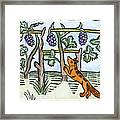 Aesop The Fox & The Grapes Framed Print