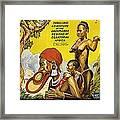 Africa Speaks Framed Print