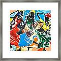 African Dancers No. 2 Framed Print