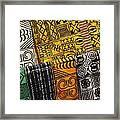 African Prints Framed Print
