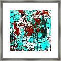 After Pollock Framed Print
