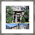 Ahwahnee Hotel In Yosemite National Park Framed Print