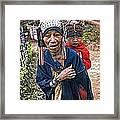 Akha Tribe II Framed Print