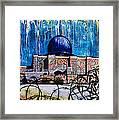 Al-asqa Mosque Palestine Framed Print by Salwa  Najm