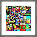 Alef Bais 1c Framed Print