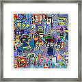 Alef Bais 1y Framed Print