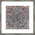 Alhambra Tile Detail Framed Print by Jane Rix