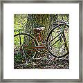 All Bike Out Framed Print