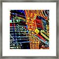 All Mixed Up Digital Guitar Art By Steven Langston Framed Print