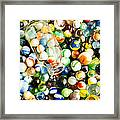 All The Marbles Framed Print by Edward Fielding