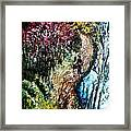 Alley By The Lake Framed Print