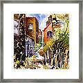 Alleyway Charm 2 Framed Print