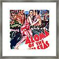 Aloma Of The South Seas, Us Poster Framed Print
